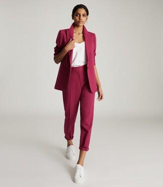 Reiss Miller - Slim Fit Tailored Blazer in Pink