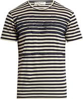 Etro Grosgrain-appliqué cotton T-shirt