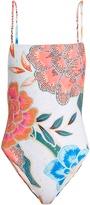 Mara Hoffman Arcadia Coral-print swimsuit
