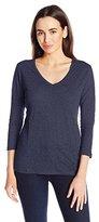 Pendleton Women's 3/4 Sleeve V-Neck Tee