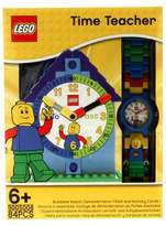 Lego Time Teach Set with Minifigure-Link Watch, Constructible Clock and Activity Cards - Blue