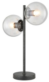 """Home Accessories Duodot 13.78"""" 2-Light Indoor Desk Lamp with Light Kit"""