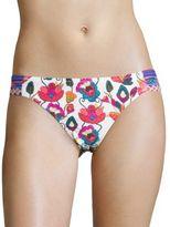Nanette Lepore Floral Bikini Swim Bottoms