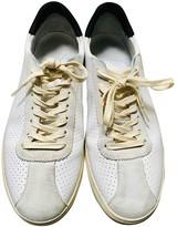 Non Signã© / Unsigned Non SignA / Unsigned White Leather Trainers