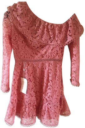 River Island Pink Lace Dress for Women