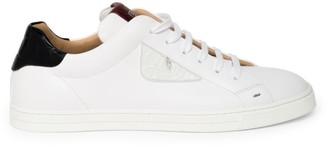 Fendi Caymen Leather Sneakers