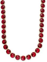 Charter Club Round Crystal Necklace, Only at Macy's