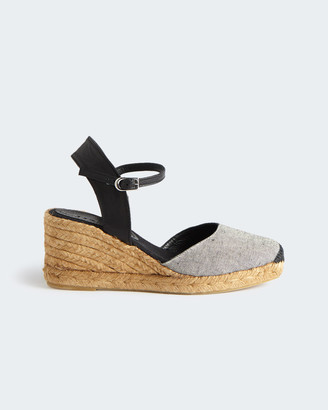 Jigsaw Llana Canvas Wedge Espadrille