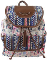 UNIONBAY Union Bay Floral Flap Backpack