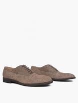 Maison Margiela Brown Textured Dot Oxford Shoes