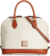 Dooney & Bourke Lizard-Embossed Zip Zip Satchel, A Macy's Exclusive Style