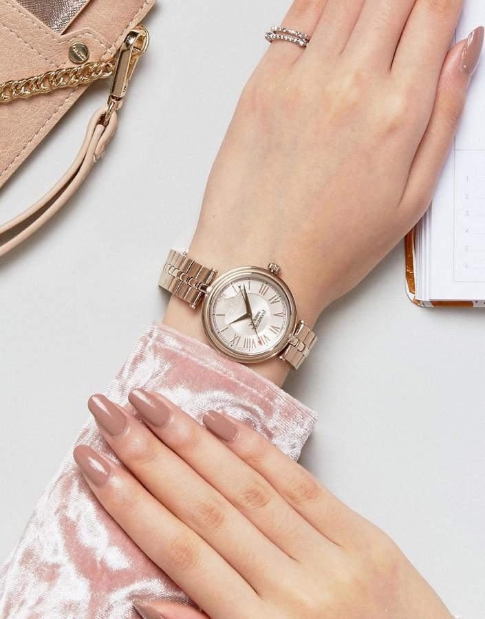 Vivienne Westwood Vv168nunu Bracelet Watch In Gold