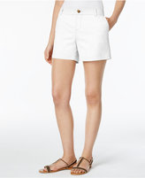 Style&Co. Style & Co Twill Shorts, Only at Macy's