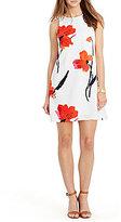 Lauren Ralph Lauren Floral Crepe Shift Dress