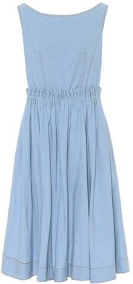 Marni Denim midi dress