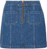 Madewell Denim Mini Skirt - Blue