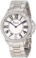 Freelook Women's HA9048M-4 All Half Dial Swarovski Bezel Watch