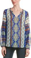 Hale Bob Printed Silk Tunic