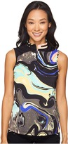 Jamie Sadock Galaxy Print Sleeveless Top