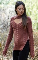 Somedays Lovin Texan Cable Knit Pullover Sweater