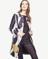 Ann Taylor Petite Calla Lily Jacquard Coat