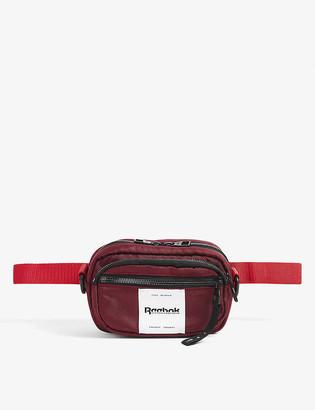 Reebok x Victoria Beckham Logo-embroidered woven belt bag