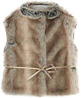 Il Gufo Faux fur vest