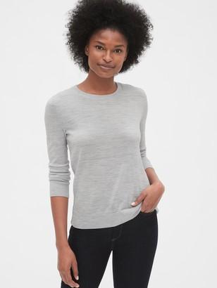 Gap Crewneck Sweater in Merino Wool