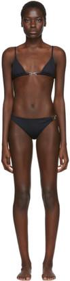 Rudi Gernreich Black Buckle Bikini