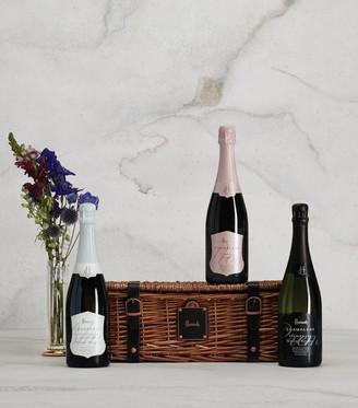 Harrods Champagne Trio Celebration Hamper