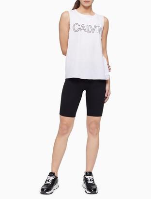 Calvin Klein Performance Outline Logo Tank Top