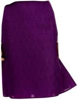 Saint Laurent Purple Skirt for Women