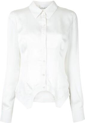 Fleur Du Mal Bralette-Detail Garter Shirt