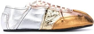 Marni Multi-Panel Low-Top Sneakers
