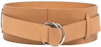 FEDERICA TOSI Wide Leather Belt