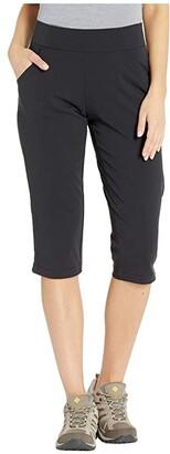 Columbia Anytime Casualtm Capris (Black) Women's Casual Pants