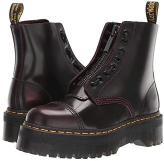 Dr. Martens Sinclair Quad Retro (Cherry Red Arcadia) Women's Boots