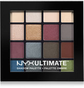 NYX Professional Makeup Ultimate Eye Shadow Palette, Smokey & Highlight