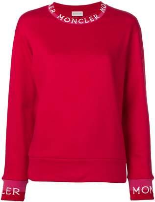 Moncler long neckline jumper