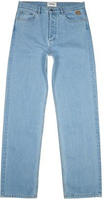 Nanushka Gannon light blue straight-leg jeans