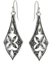 2028 Earrings, a Macy's Exclusive Style, Silver-Tone Linear Drop Earrings, a Macy's Exclusive Style