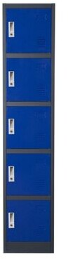 Rebrilliant Brodie Metal Storage Cabinet Finish: Blue