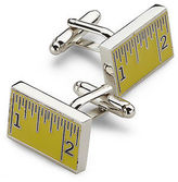 Link Up Measuring Tape Cuff Links Casual Male XL Big & Tall