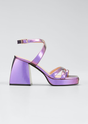 Nodaleto Bulla Siler 85mm Metallic Sandals