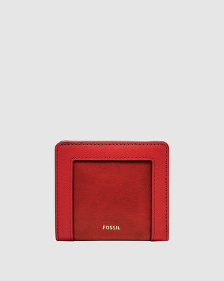 Fossil Logan Red Wallet