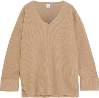 Iris & Ink Rachel Oversized Merino Wool Sweater