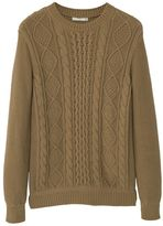 Mango Cable-knit Cotton Sweater