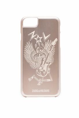 Zadig & Voltaire IPhone 6/7 case Skeleton Guitar