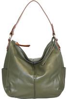 Nino Bossi Women's Water Lily Blossom Hobo Handbag