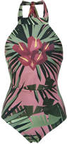 OSKLEN tropical print swimsuit